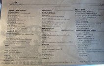 Taste of Belgium - Their glorious menu