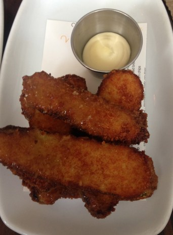 Second Bar + Kitchen - buffalo fried pickles