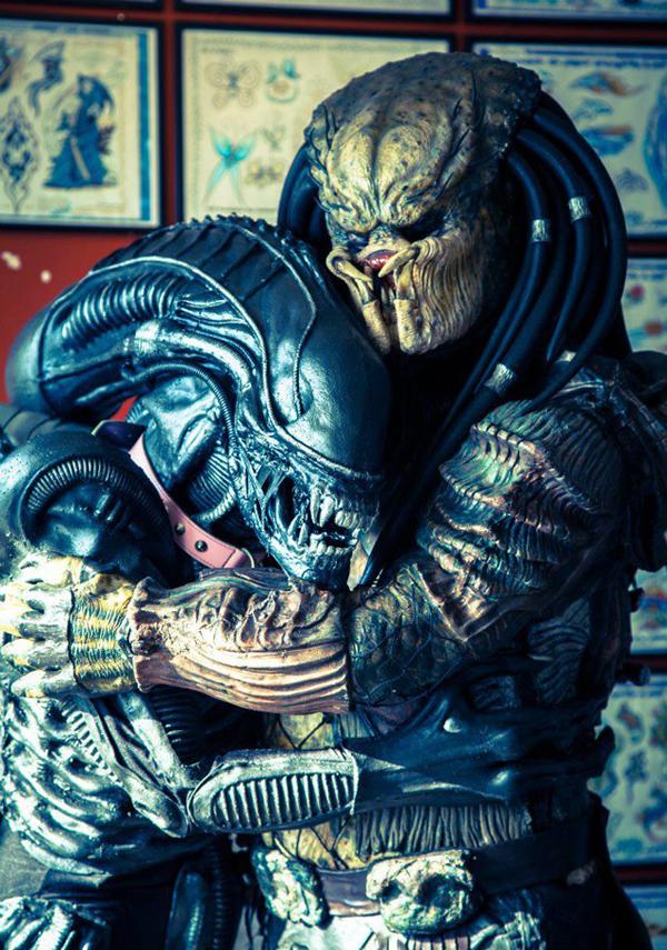 Alien vs  Predador - Uma história de dois rivais que se amam!