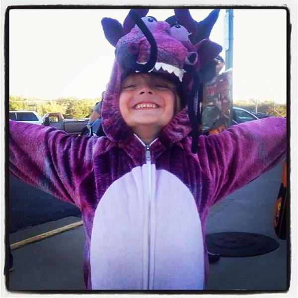 Criança Fantasia Halloween Dragão
