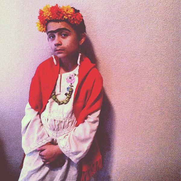 Criança Fantasia Frida Kahlo
