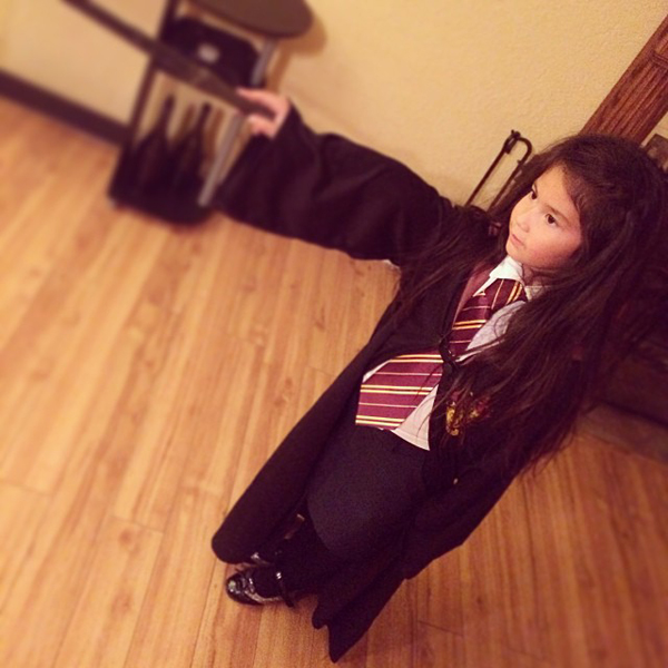 Criança Nerd Halloween Hermione Granger
