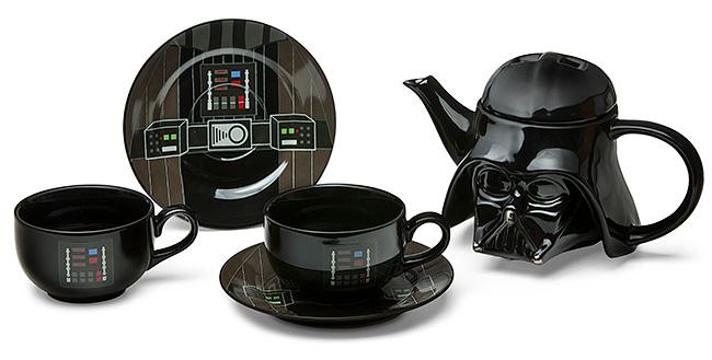 Conjunto de chá Darth Vader