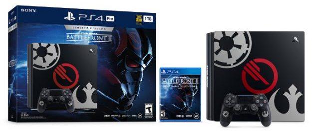 Sony anuncia edição limitada de PlayStation 4 Star Wars: Battlefront 2
