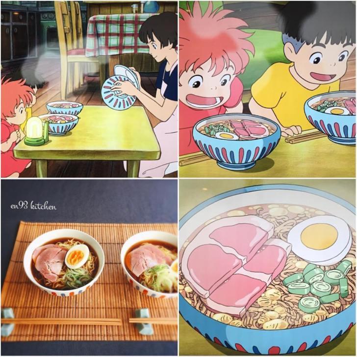Comidas reais inspiradas nos filmes do Studio Ghibli