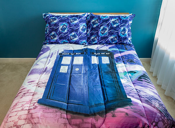 Doctor Who: Conjunto de roupa de cama TARDIS