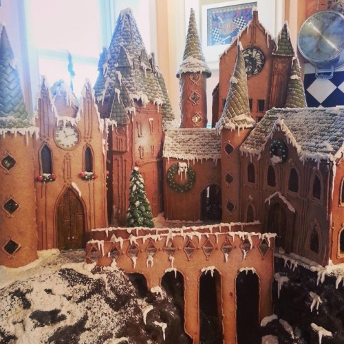 Harry Potter: Castelo de Hogwarts mais doce que as guloseimas da Dedos de Mel