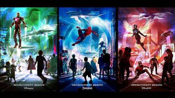 Disneylândia anuncia expansão dos Vingadores em seus parques temáticos até 2020