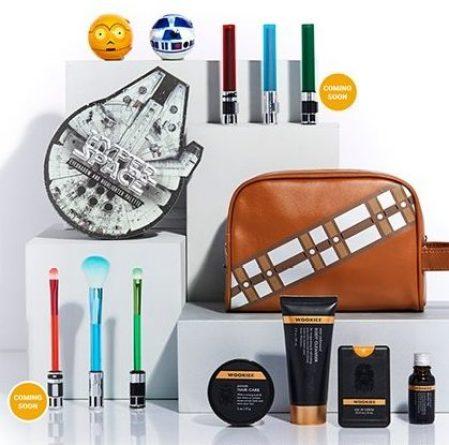 maquiagem star wars hot topic