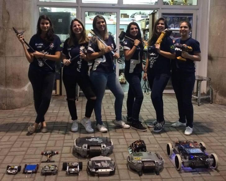 Equipe universitária carioca, Riobotz, leva ouro em competição de Robótica