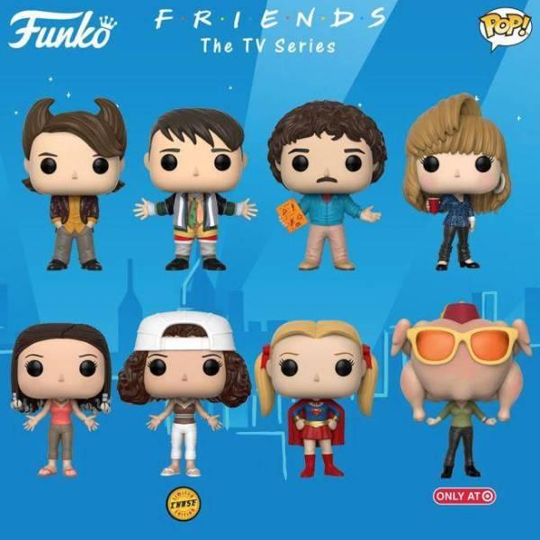 FRIENDS: Funkoanuncia bonecos Pop em homenagem a série