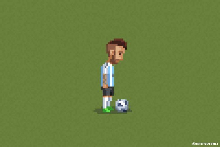 Melhores momentos da Copa do Mundo em 8-bits