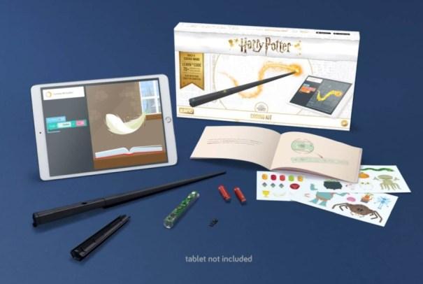 Harry Potter ensina programação com kit de varinha Kano