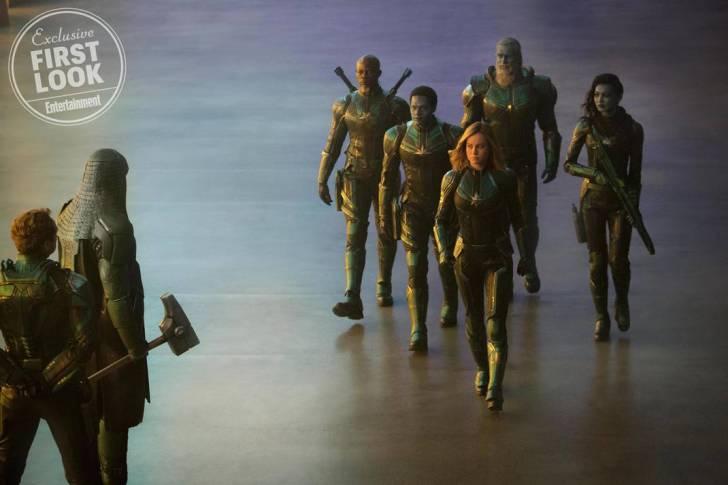Saiu as primeiras fotos oficiais de Capitã Marvel