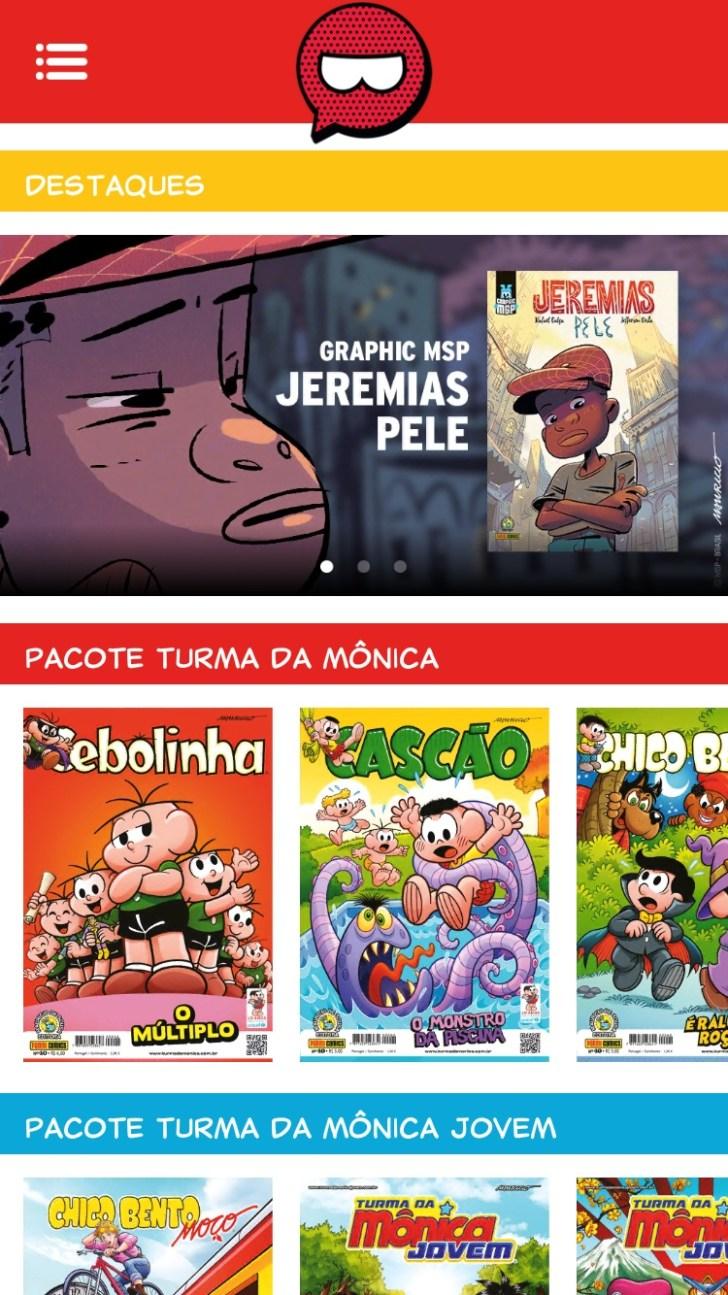 Turma da Mônica surpreende fãs com o lançamento do aplicativo Banca da Mônica