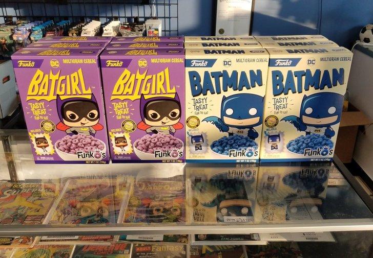 Funko anuncia cereal matinal da Batgirl!