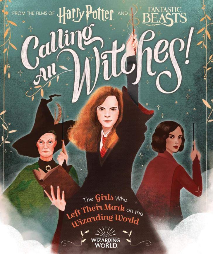 capa chamando todas as bruxas