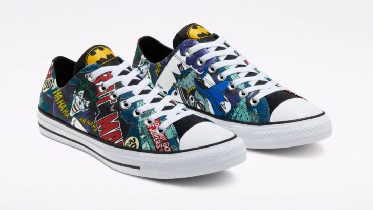 Converse comemora 80 anos do Batman 6