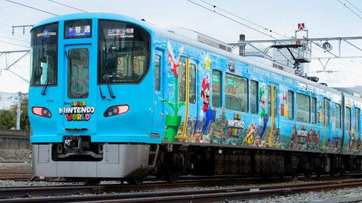 Super Nintendo World ganha trem temático em Osaka