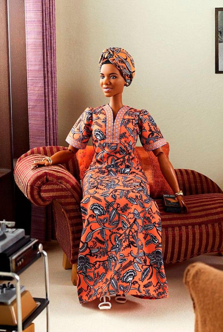 Maya Angelou é homenageada em coleção da Barbie