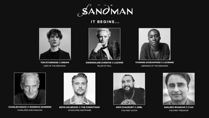 Sandman: Série da Netflix tem elenco revelado