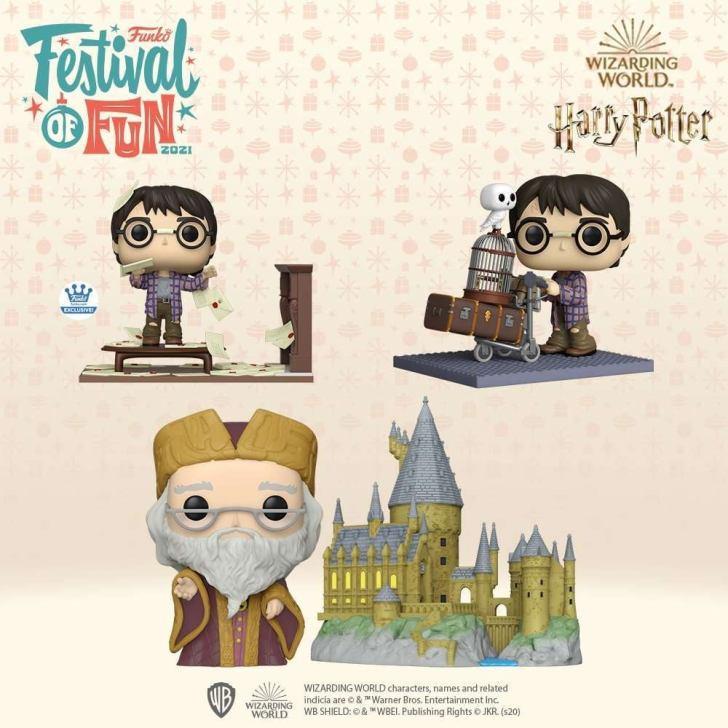 Harry Potter: Coleção Pop Funko 20 anos da saga