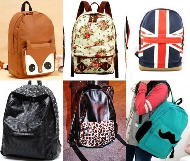 mochilas fashion diferentes divertidas