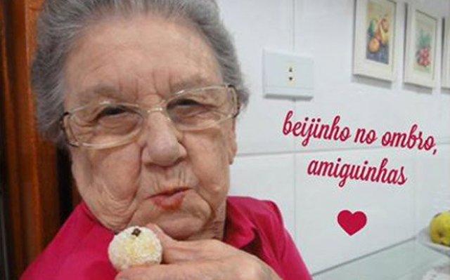 Incomodada ficava a sua avó