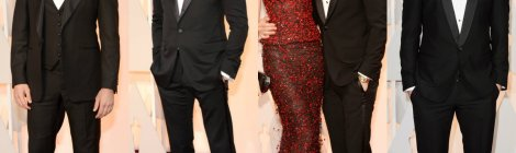 Oscar 2015 - Os homens do Red Carpet