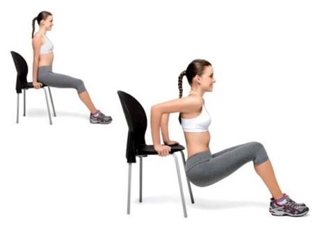 triceps cadeira
