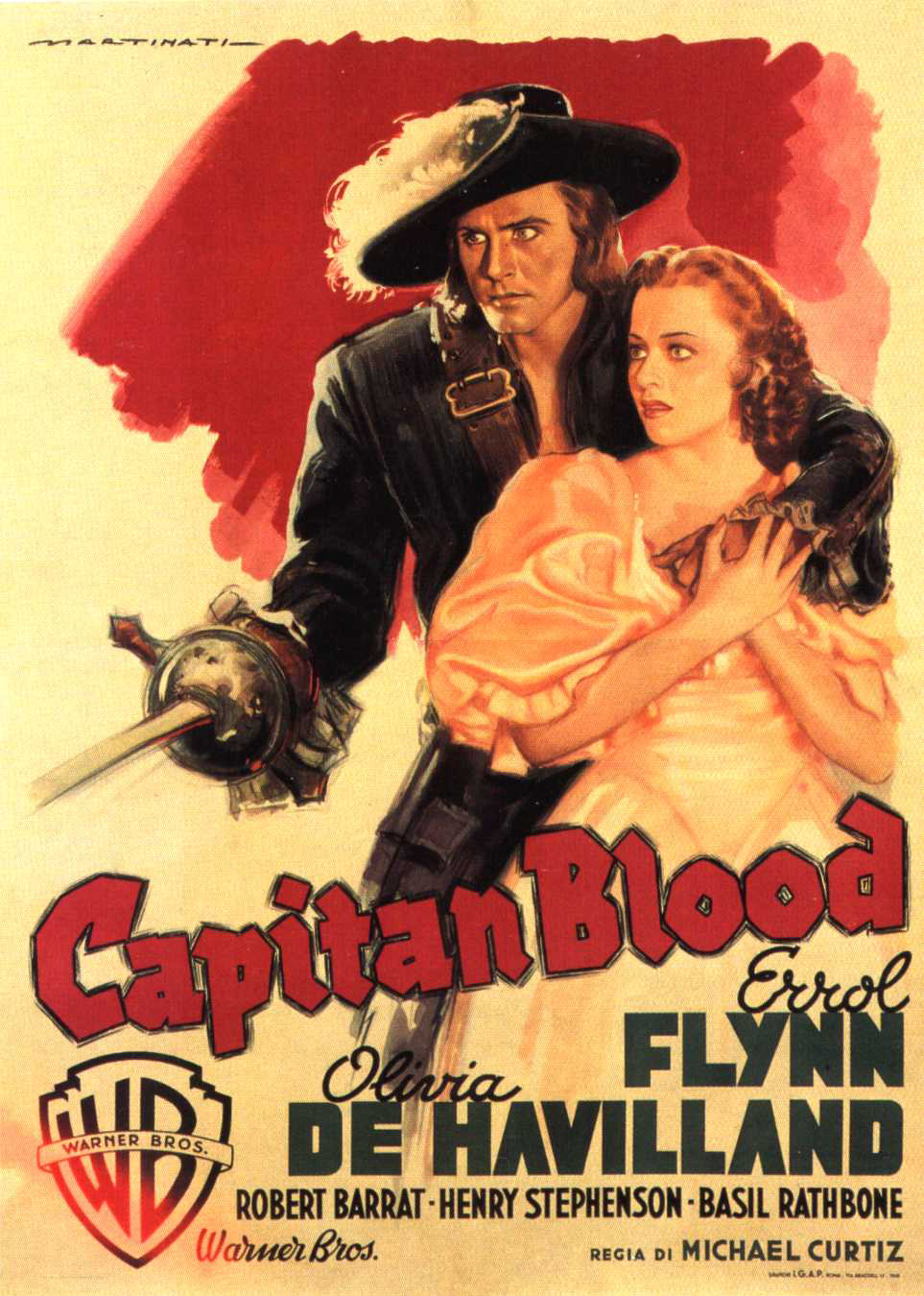 Captain Blood poster