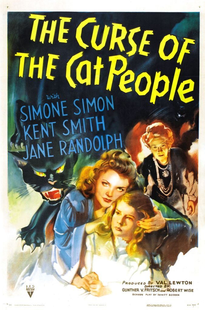 curse of cat people poster