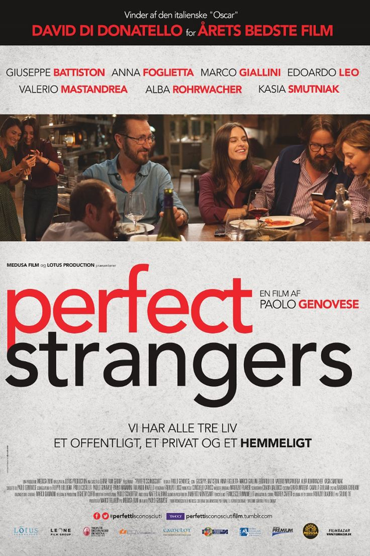 Perfect Strangers poster