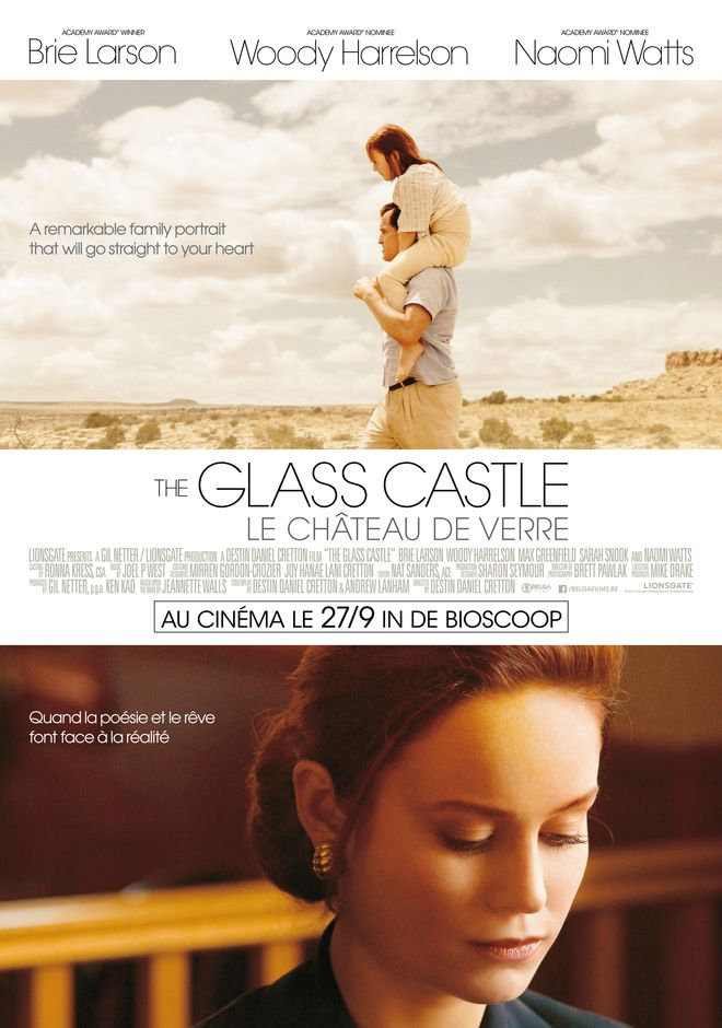 glass castle poster