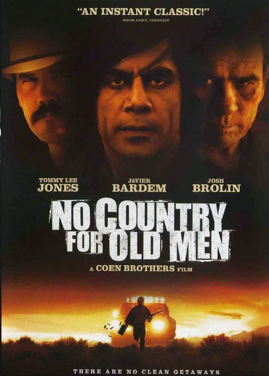 To nie jest kraj dla starych ludzi plakat