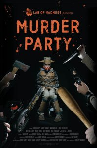 Murder Party poster horror