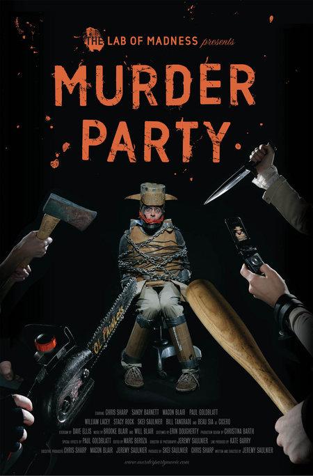 Murder Party poster horror
