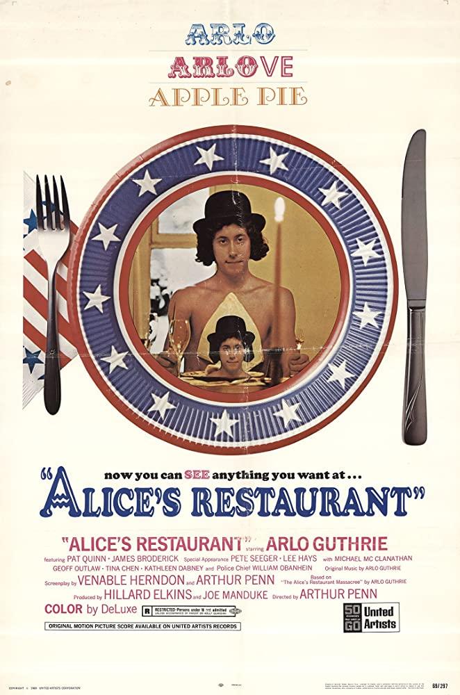 Restauracja Alicji arthur penn 1969
