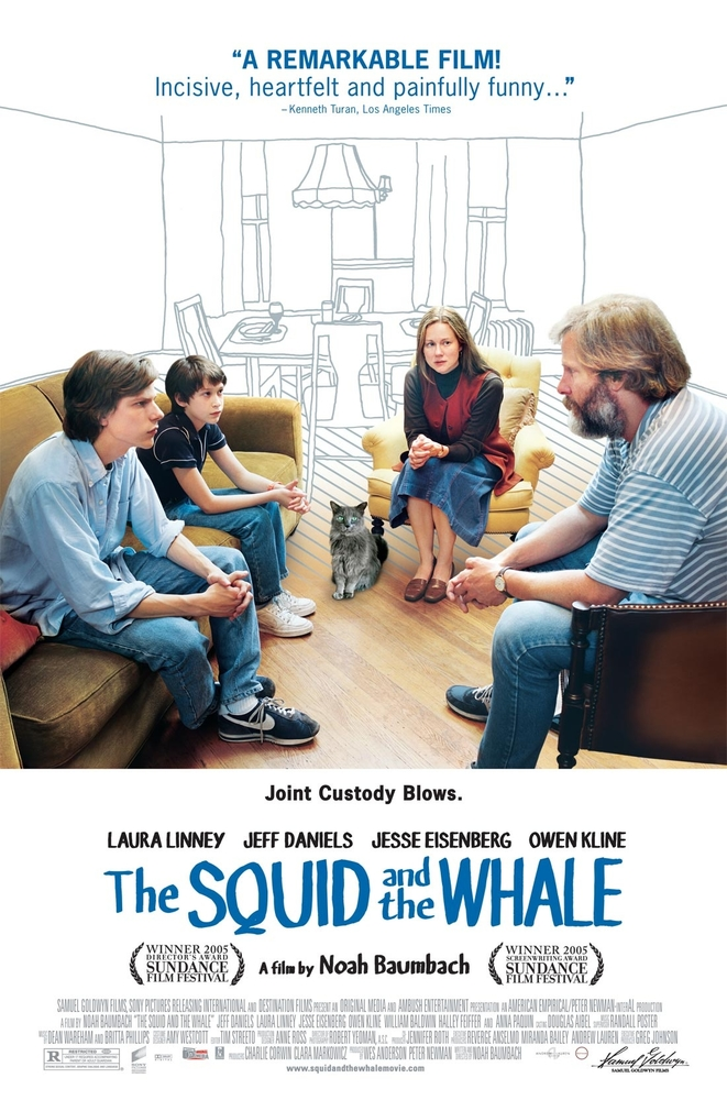Squid and the Whale walka zywiolow