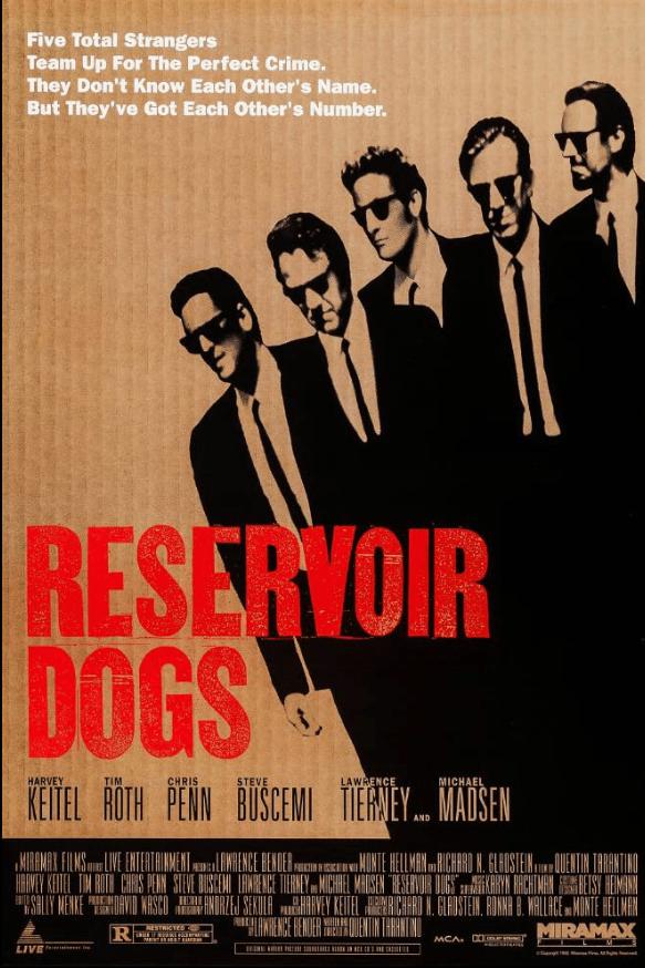 Reservoir Dogs tarantino 1992 wsciekle psy