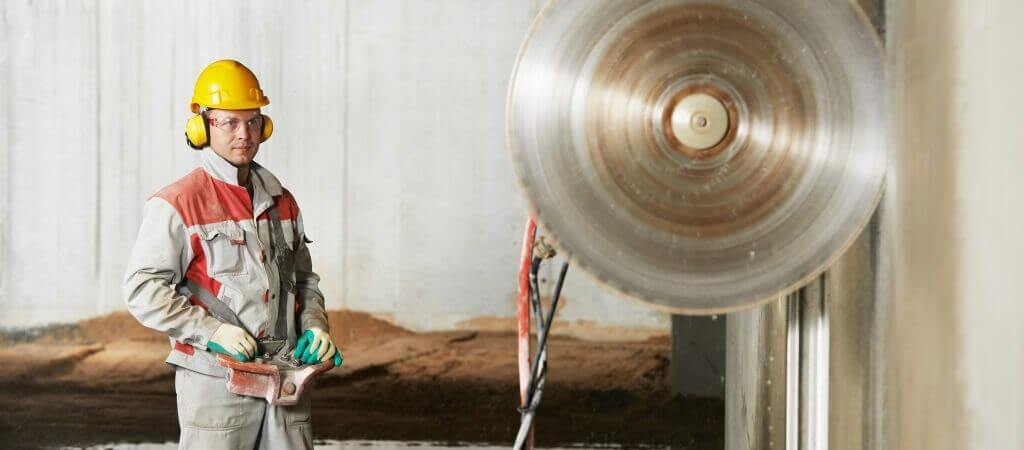 wall sawing image