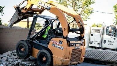 concrete demolition service claremont