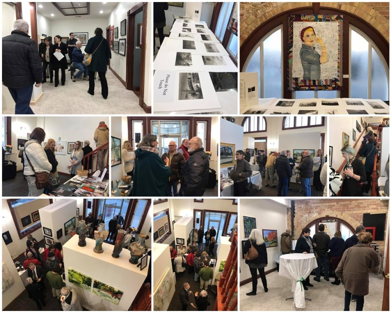 2017 Member's Show Opening Reception, Garrett Museum of Art, Garrett Indiana, www.garrettmuseumofart.org, art museum, artist reception, art exhibition