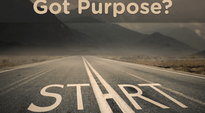 Having a Life Purpose Always in Sight is Central to Career Fulfillment