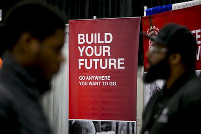 Job creation was supposed to slow but hiring has sped up