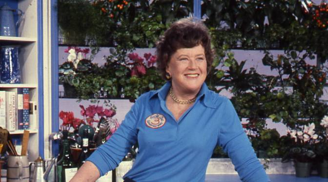 Julia Child's career is a recipe for reinvention