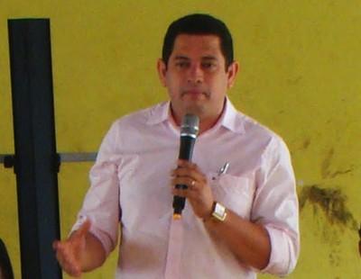 O prefeito de Itapecuru-Mirim, Magno Amorim: convênio suspenso pela VALE por indícios de irregularidades e ação do MP