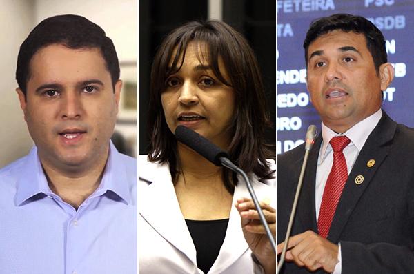 Edivaldo, Eliziane e Welington: mudanças na  corrida eleitoral