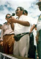 Manoel Conceição Santos - Foto de Jorge Alemida, de 1994. (Fonte: http://www.bicopapagaioam.hpg.com.br/txt1_memoria_mane.htm )