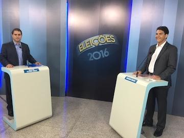 Edivaldo Holanda e Eduardo Braide: debate na Mirante